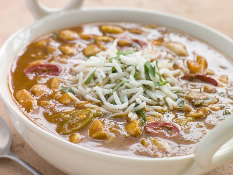 miska mulligatawny zupy obrazy stock