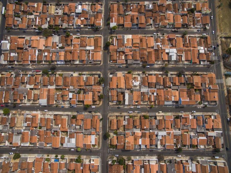 Mismo pequeña ciudad en Sao Paulo, el Brasil Suramérica fotos de archivo libres de regalías