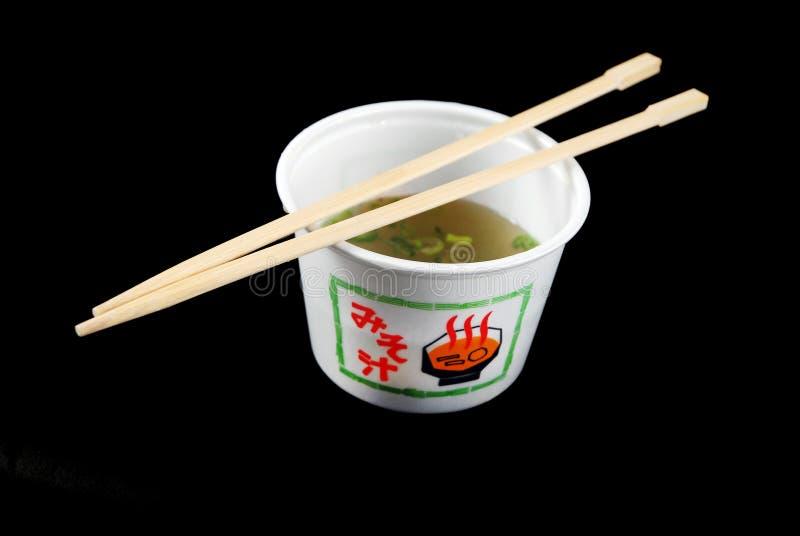 Misosuppe lizenzfreie stockfotografie