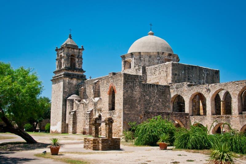 Missão San Jose San Antonio imagem de stock royalty free