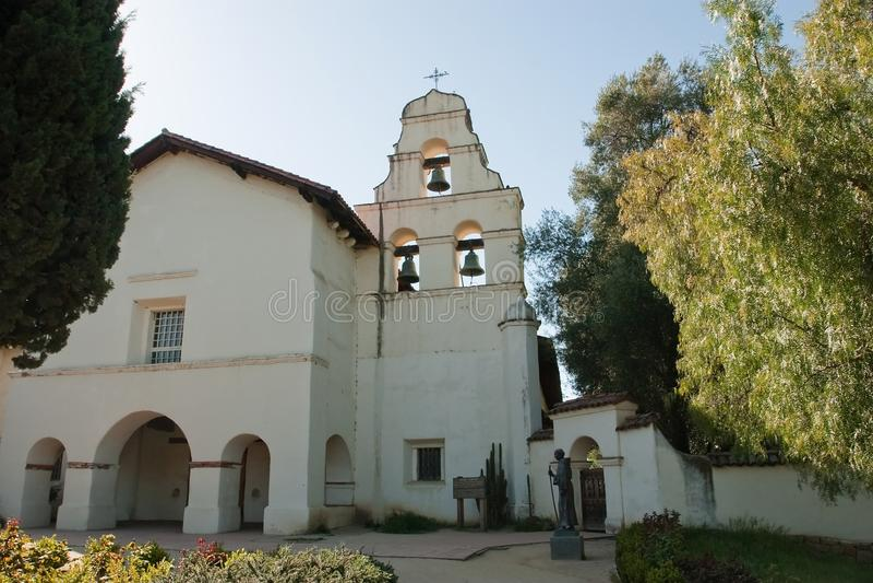 Missão San Juan Bautista imagem de stock royalty free