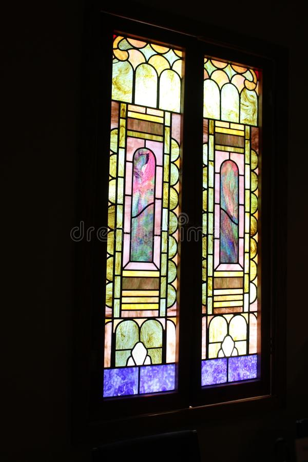 Missão velha de Adobe, nossa senhora da igreja Católica perpétua da ajuda, Scottsdale, o Arizona, Estados Unidos fotografia de stock royalty free