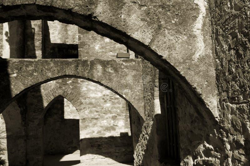 Missões de San Antonio fotografia de stock