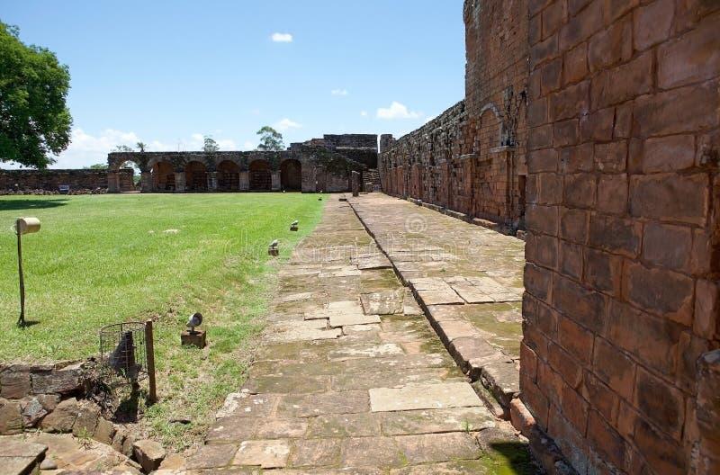 Missões do jesuíta do La Santisima Trinidad de ParanÃ, Paraguai imagem de stock royalty free