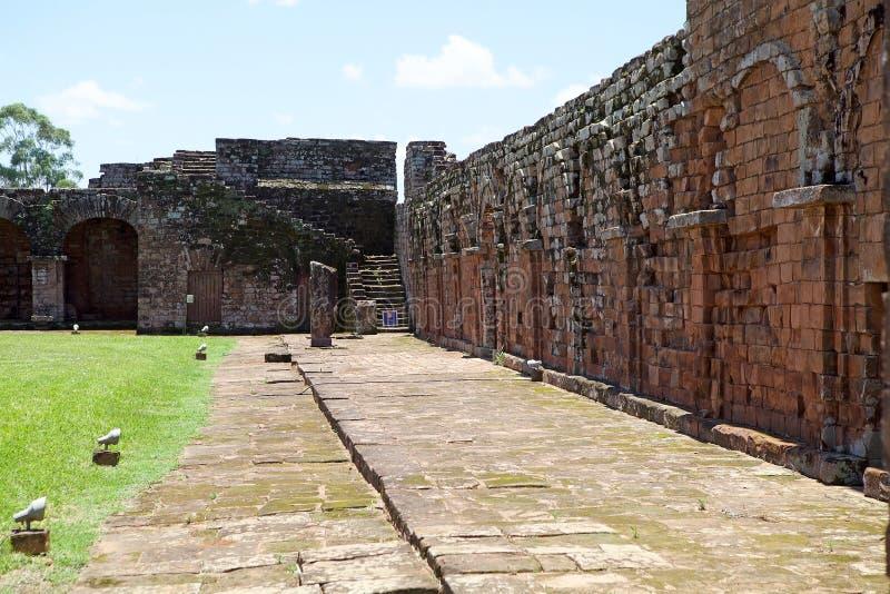 Missões do jesuíta do La Santisima Trinidad de ParanÃ, Paraguai foto de stock royalty free