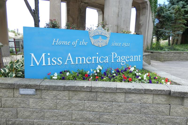 Miss America royalty free stock photo