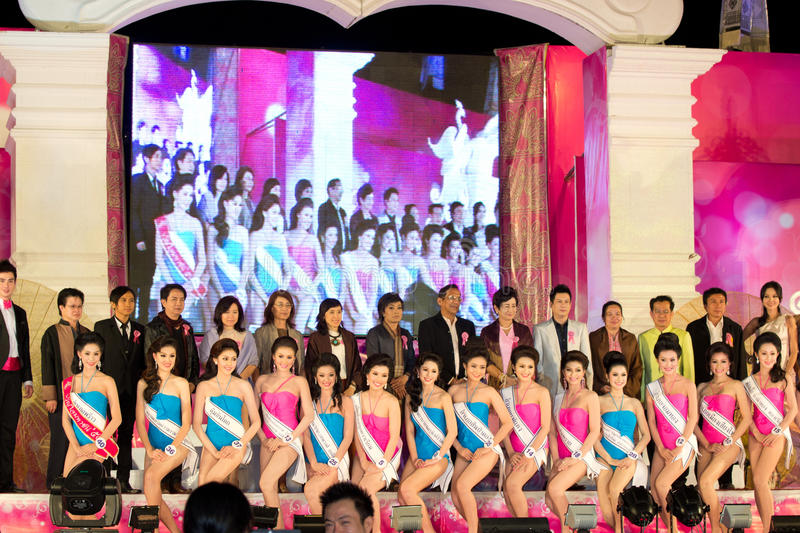 Download Miss Chiangmai 2012 editorial stock photo. Image of lanna - 23141878