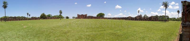 Miss?es do jesu?ta do La Santisima Trinidad de Paran?, Paraguai fotos de stock royalty free