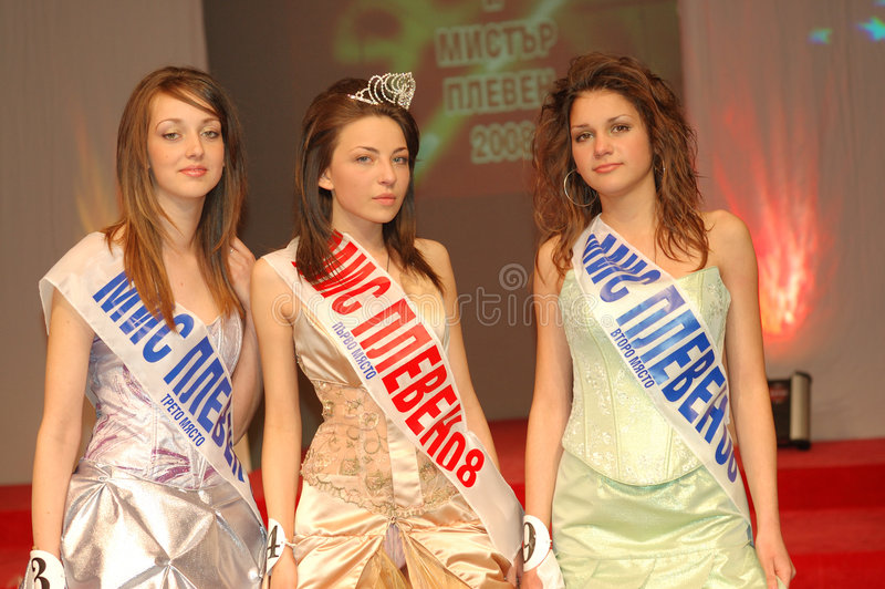 Download Miss Pleven 2008 editorial image. Image of crown, happiness - 5170920