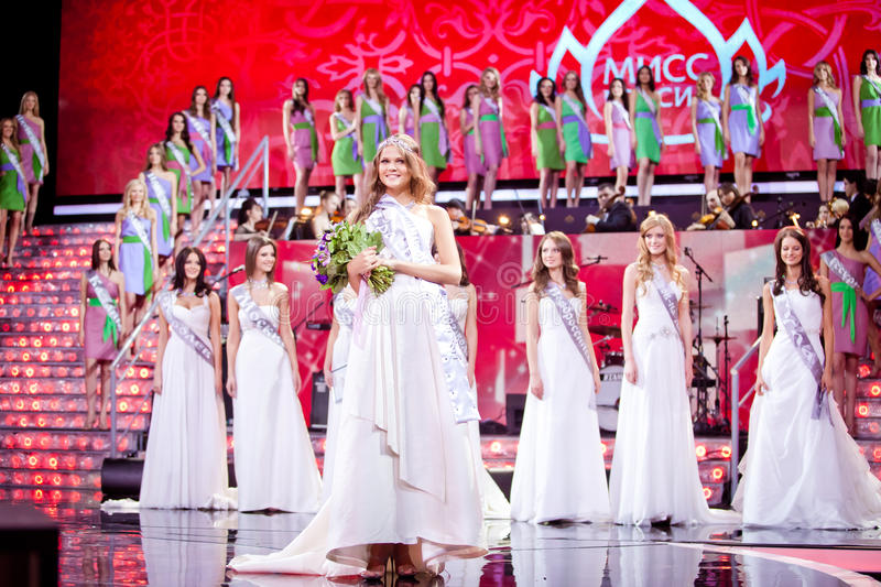 Download Miss Russia 2010 Beauty Contest Editorial Photo - Image: 18653256