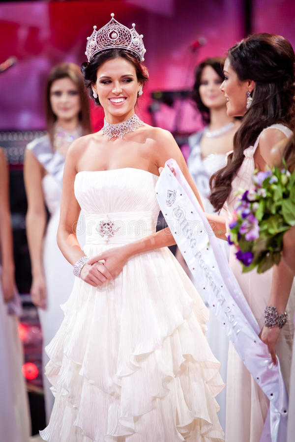Download Miss Russia 2010 Beauty Contest Editorial Stock Photo - Image: 18653373