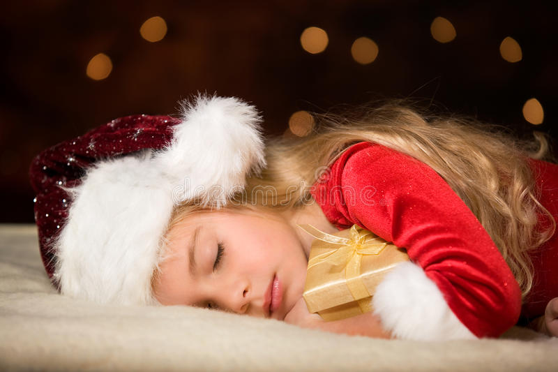 Miss santa stock images
