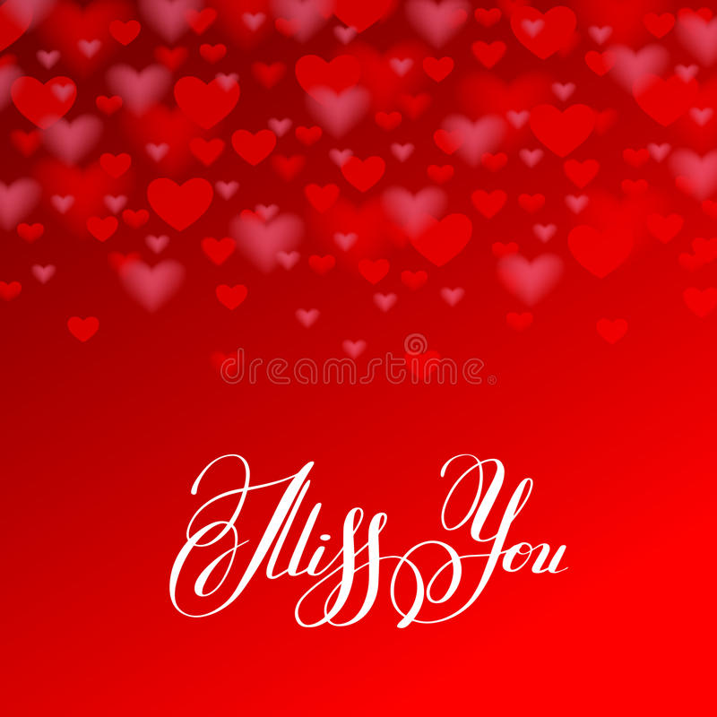 Miss you inscription hand lettering on red heart shape backgroun download miss you inscription hand lettering on red heart shape backgroun stock vector illustration of m4hsunfo