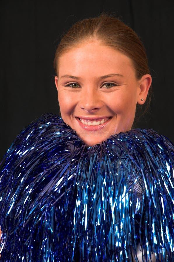 Misser America Cheerleader 1 royalty-vrije stock foto's