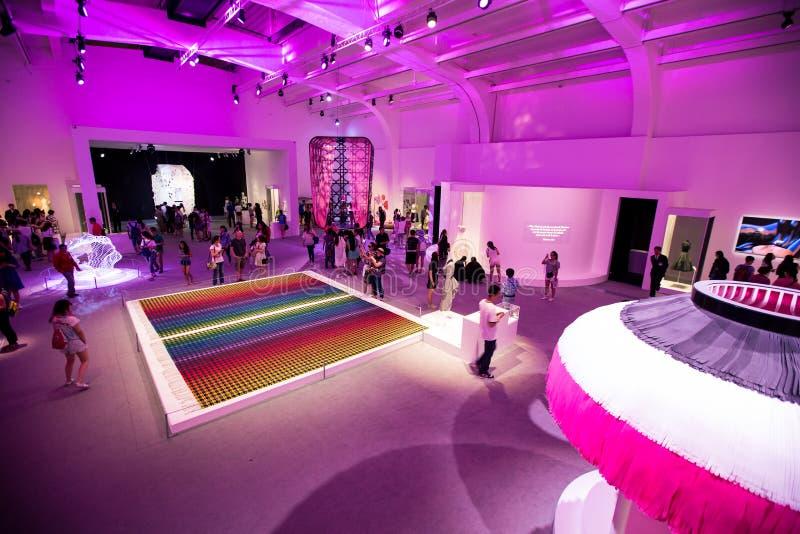Misser Dior Exhibition in China royalty-vrije stock fotografie