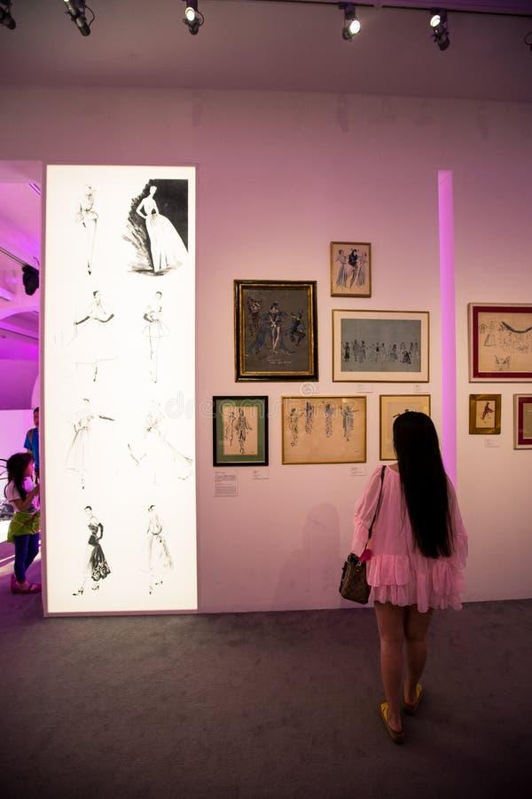 Misser Dior Exhibition in China stock fotografie