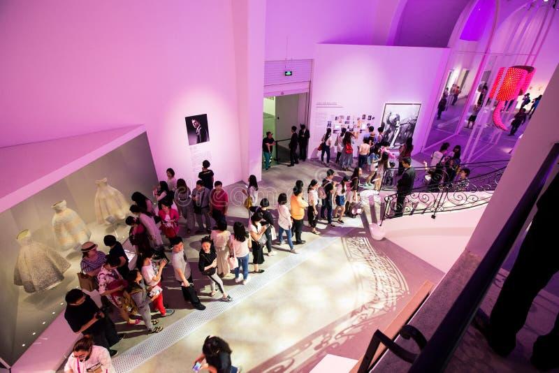 Misser Dior Exhibition in China royalty-vrije stock foto