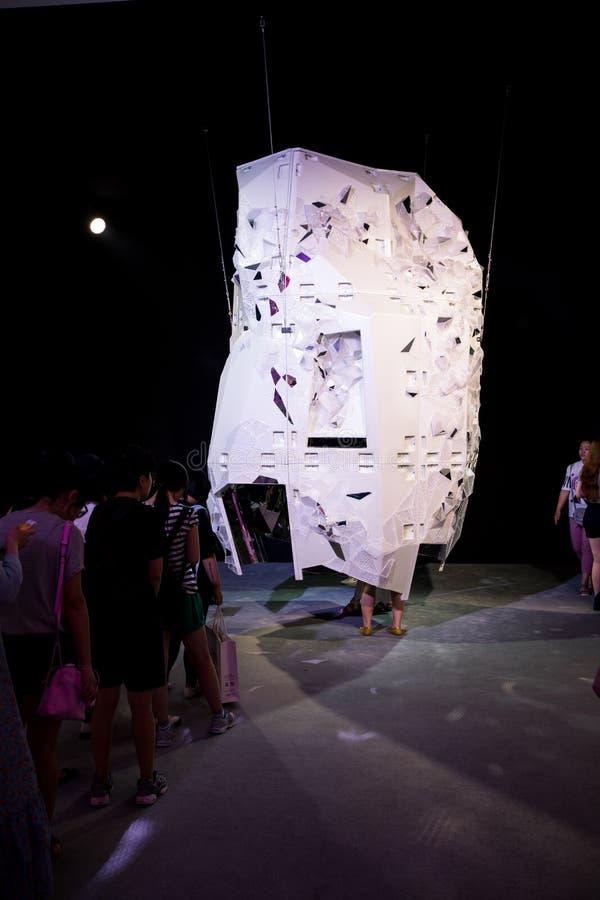 Misser Dior Exhibition in China stock afbeeldingen