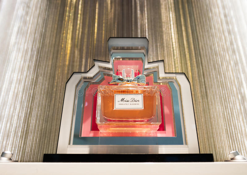 Misser Dior-parfum stock afbeeldingen