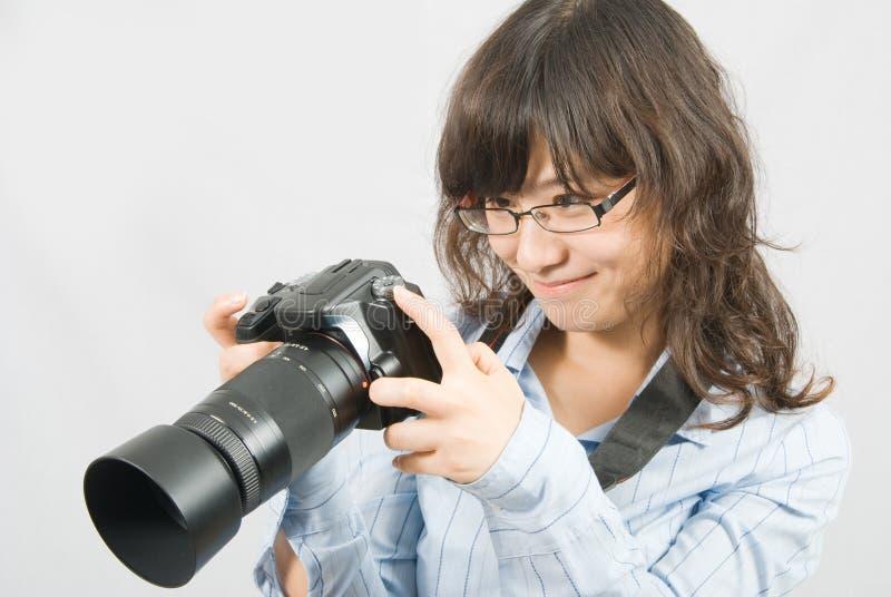 Misser Photographer royalty-vrije stock foto