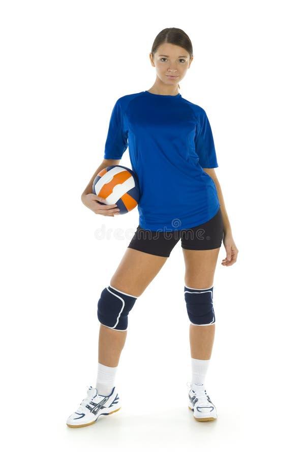 Misser volleyball royalty-vrije stock afbeelding