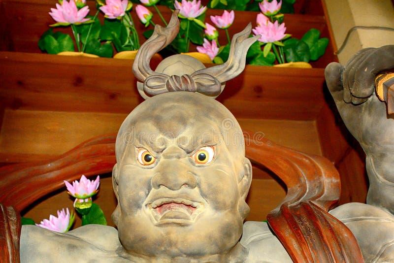 Misshaku Kongo στο βουδιστικό ναό Hase Dera Kannon, Kamakura, Ja στοκ φωτογραφία με δικαίωμα ελεύθερης χρήσης