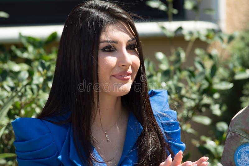 Missi Lebanon im Jahre 2013 lizenzfreie stockfotografie