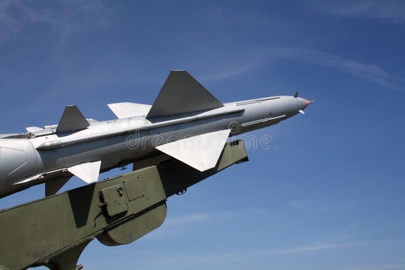 missil en royaltyfri fotografi