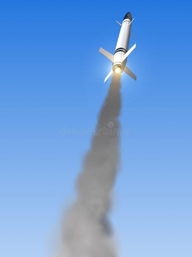 Missile illustration de vecteur