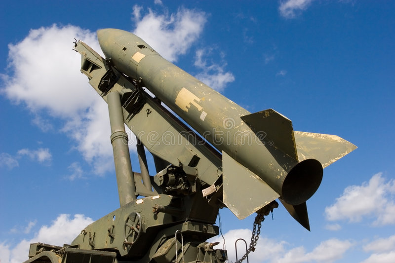 Missile images stock