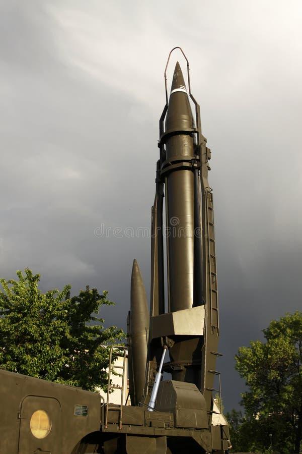 Missile balistico fotografia stock