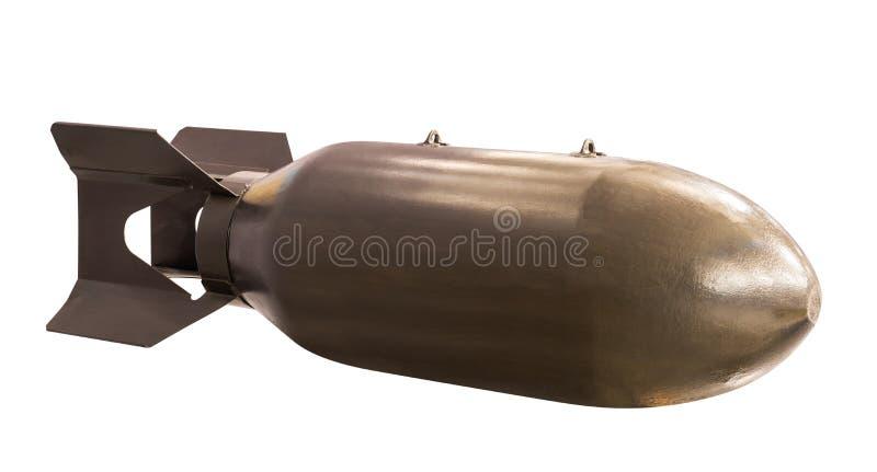 Missile balistico antico immagine stock libera da diritti
