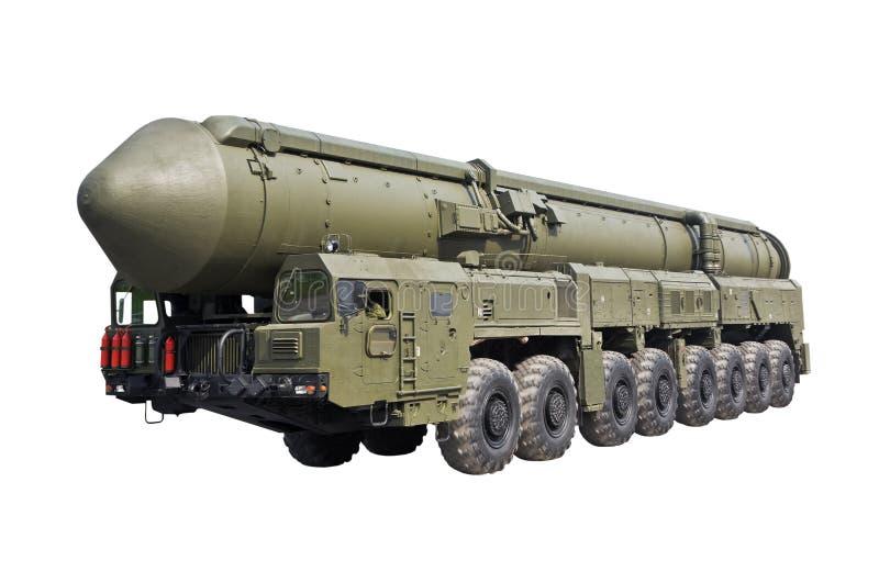 Missile balistico intercontinentale Topol-M immagine stock libera da diritti
