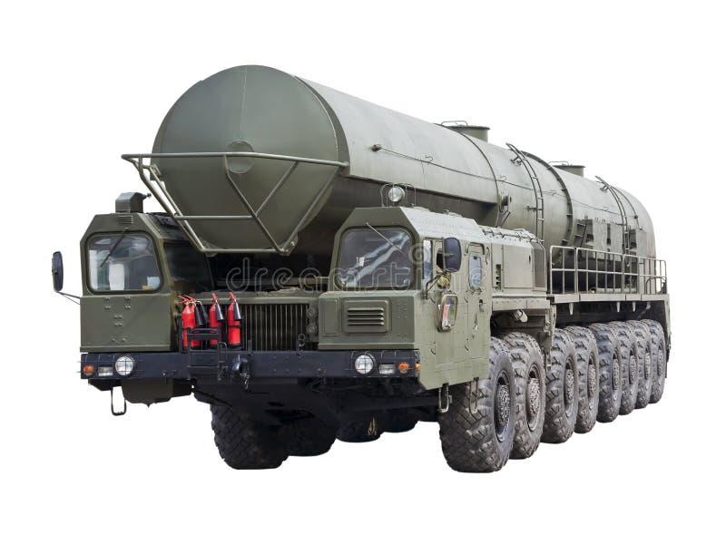 Missile balistique intercontinental Topol-M images libres de droits