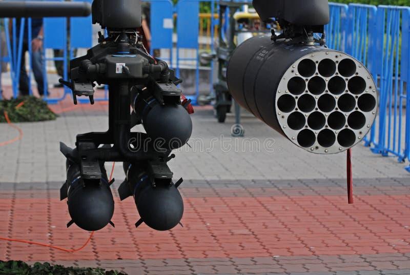 Missile e bombe fotografia stock