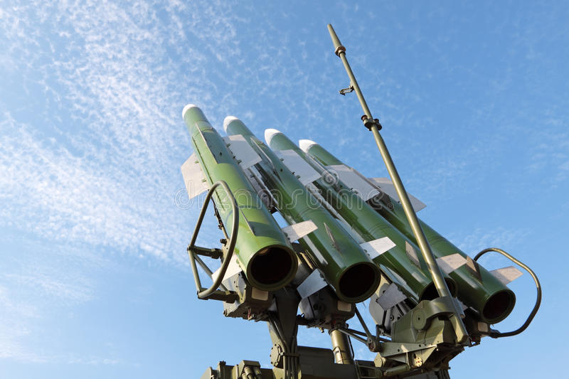 Missiles photographie stock