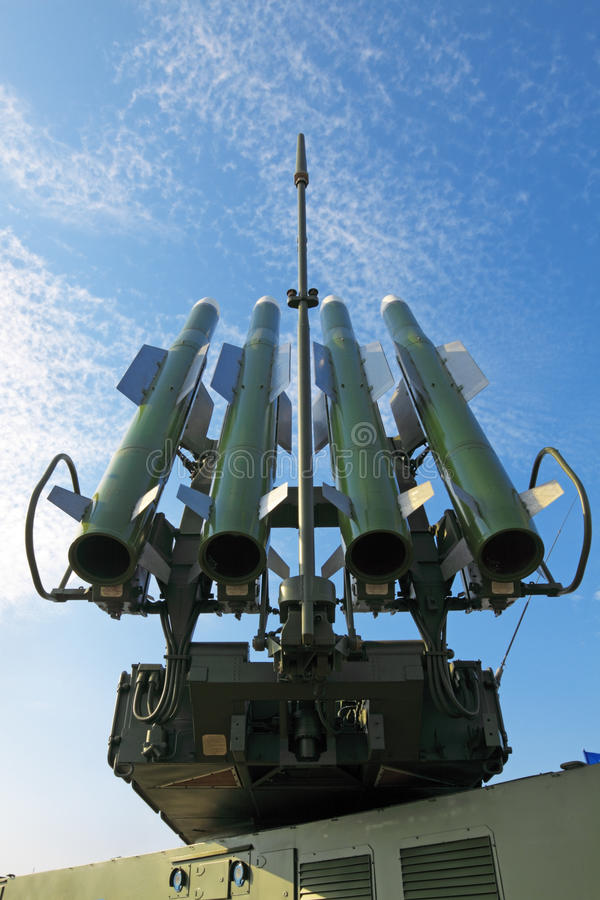 Missiles image stock