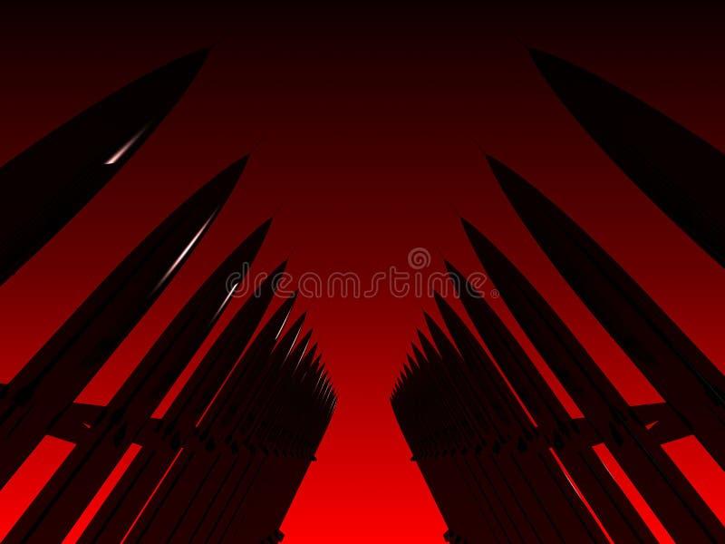 Missiles illustration libre de droits