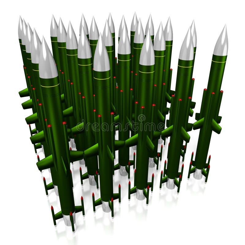 missiles illustration de vecteur