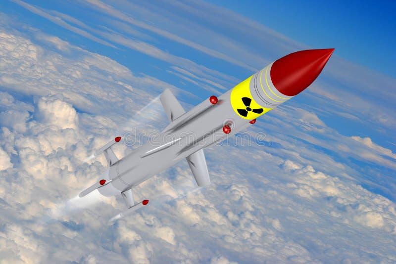missiles illustration stock