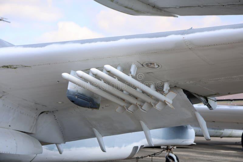 Missiles prêts pour Lauch photographie stock libre de droits