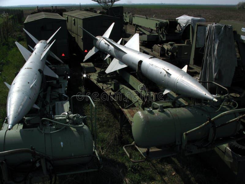 Missili dei velivoli immagini stock libere da diritti