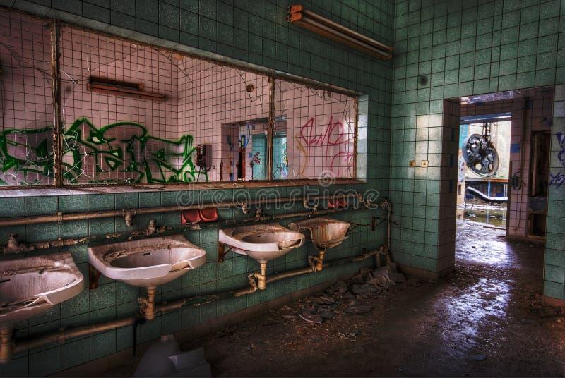 Download Missing mirror stock photo. Image of interior, sinks, bathroom - 7588738