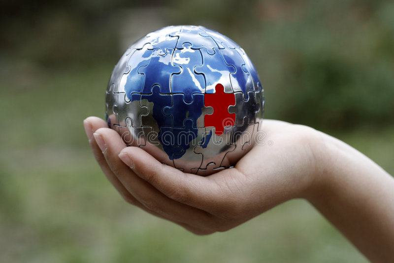 Download The Missing Piece stock photo. Image of cycle, earth, hope - 2465024