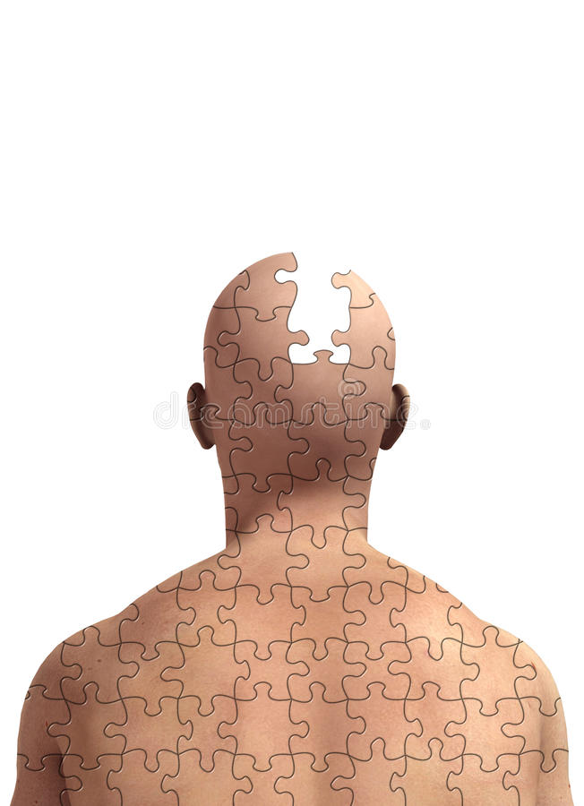 Download Missing Piece Of Mind Royalty Free Stock Photo - Image: 15584275