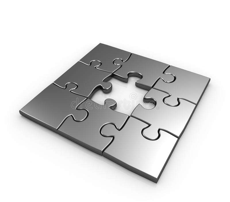 Download Missing Piece Puzzle Concept Stock Illustration - Image: 17922715