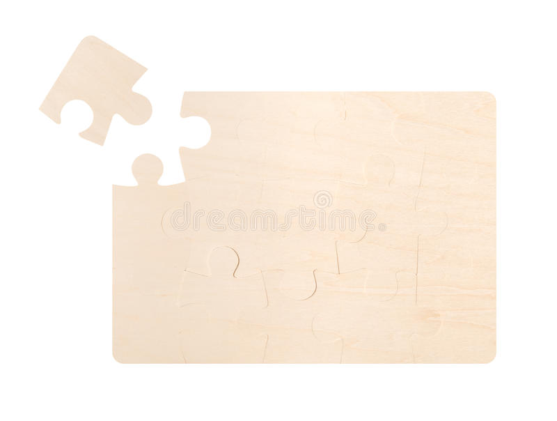 Missing Puzzle Piece stock photos