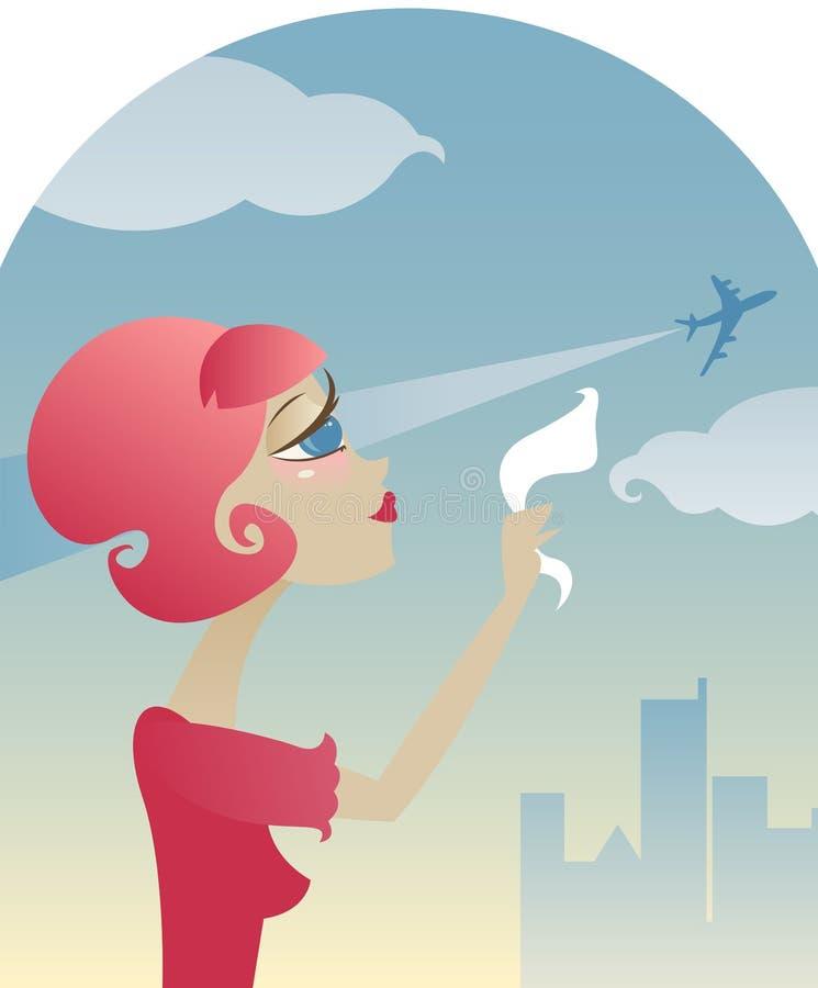 Missing You vector illustration