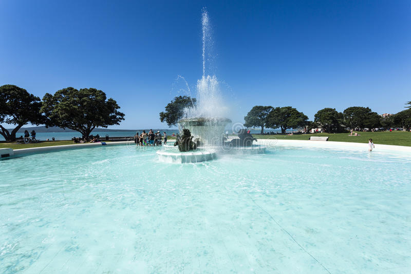Mission bay auckland stock photo image of auckland coast - Mission bay swimming pool auckland ...