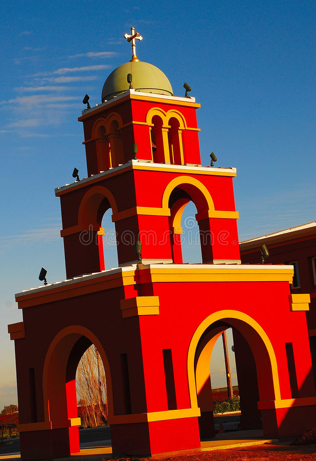 Free Mission Bell Tower 2 Stock Photography - 4658762